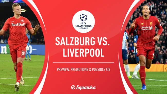 欧冠萨尔茨堡VS利物浦前瞻分析:红军遭遇巨大挑战